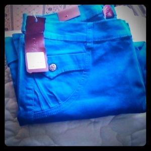 Blue pants NWT